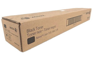 Xerox 006R01525 Black OEM Genuine Toner Cartridges for COLOR 550