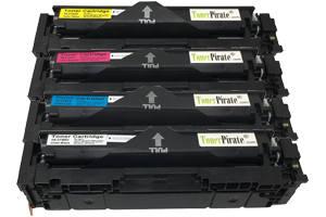 Canon 054H Black & Color Compatible Toner Cartridge Set for LBP622Cdw