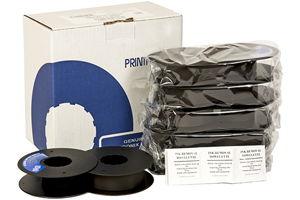 Printronix 107675-007 Extended Life Spool Ribbon, 50M CHAR, 6-Pack