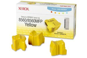 Xerox 108R00725 Yellow OEM Genuine Solid Ink (3PK) for Phaser 8560N