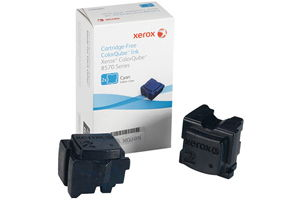 Xerox 108R00926 [OEM] Cyan Solid Ink (2 Sticks) ColorQube 8570 8580