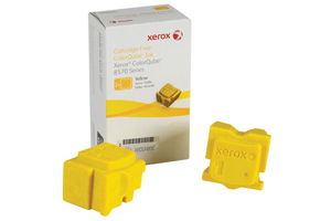 Xerox 108R00928 [OEM] Yellow Solid Ink (2 Sticks) ColorQube 8570 8580