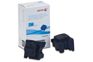 Xerox 108R00990 [OEM] Cyan Solid Ink (2 Sticks) ColorQube 8700