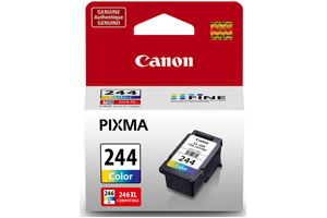 Canon CL-244 Color OEM Genuine Ink Cartridge for MG2420 MG2520