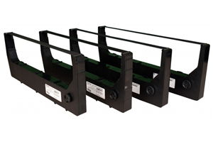 Printronix 255048-402 Extended Life Ribbon Cartridge, 4-Pack