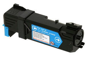 Dell 330-1390 OEM Genuine Cyan Toner Cartridge for 2130CN 2135CN