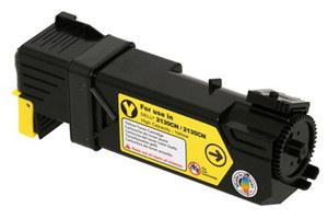 Dell 330-1391 OEM Genuine Yellow Toner Cartridge for 2130CN 2135CN