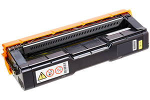 Ricoh 406044 Yellow Compatible Toner Cartridge for Aficio SPC220N