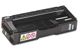 Ricoh 406047 Cyan Compatible Toner Cartridge for Aficio SPC220N
