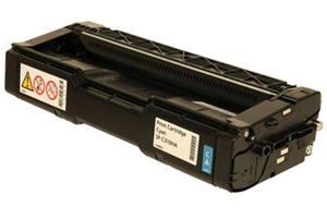 Ricoh 406476 Cyan Compatible Toner Cartridge for Aficio SP-C231N