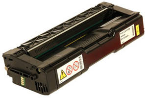 Ricoh 406478 Yellow Compatible Toner Cartridge for Aficio SP-C231N
