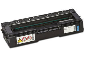 Ricoh 407654 Cyan Compatible Toner Cartridge for SPC252DN SPC252SF
