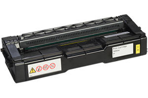 Ricoh 407656 Yellow Compatible Toner Cartridge for SPC252DN SPC252SF