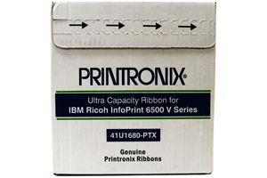 Printronix 41U1680-PTX Ultra Capacity Ribbon, 6-Pack (6500)