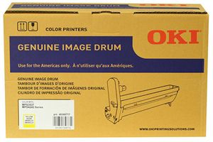 Okidata 45395717 Yellow OEM Genuine Image Drum for MPS3537 MPS4242