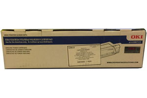 Okidata 45807115 Black OEM Genuine Toner Cartridge for ES5162 ES4132