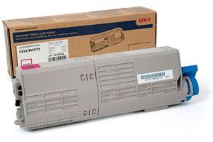 Okidata 46490502 Magenta OEM Genuine Toner Cartridge for C532DN MC573