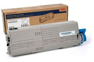 Okidata 46490504 Black OEM Genuine Toner Cartridge for C532DN MC573DN