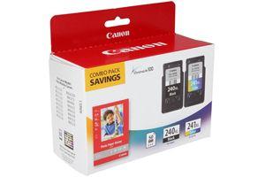 Canon PG-240XL Black CL-241XL Color 2-Pack OEM Genuine Ink Cartridges