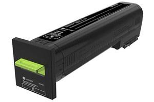 Lexmark 72K1XK0 33K Yield Black OEM Genuine Toner Cartridge for CS820