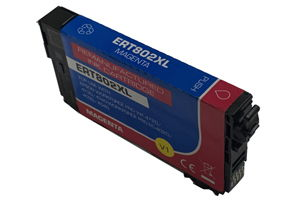 Epson T802XL320 Magenta Compatible Ink Cartridge for WF-4730 WF-4720