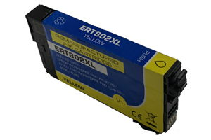Epson T802XL420 Yellow Compatible Ink Cartridge for WF-4730 WF-4720