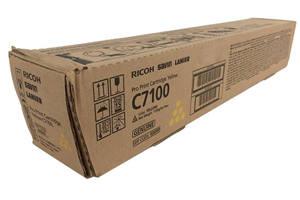Ricoh 828327 OEM Genuine Yellow Toner Cartridge for PRO C7100 C7110