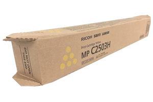 Ricoh 841919 Hi Yield Yellow Original Toner Cartridge for MPC2003