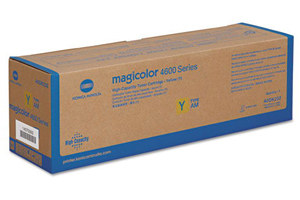 Konica A0DK231 Yellow OEM Genuine Toner Cartridge for 4650 4690 4698