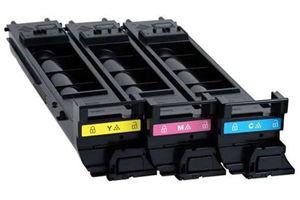 Konica Minolta A0DKJ32 Tri Color OEM Genuine Toner Cartridge for 4690