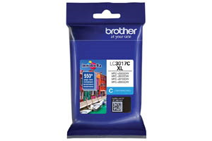 Brother LC3017C Cyan OEM Genuine High Yield Ink Cartridge MFC-J5330DW