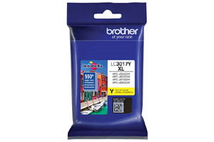 Brother LC3017Y Yellow OEM Genuine High Yield Ink Cartridge MFC-J5330