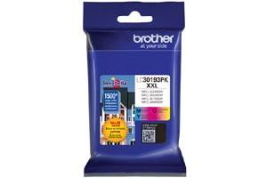 Brother LC30193PK Color 3PK OEM Genuine Super High Yield Ink Cartridge
