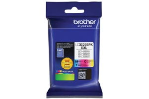 Brother LC30293PK Color 3 PK OEM Genuine High Yield Ink Cartridge