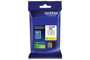 Brother LC3029Y Yellow OEM Genuine Super High Yield Ink Cartridge