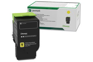 Lexmark C241XY0 Yellow (3.5K) OEM Genuine Toner Cartridge for MC2640
