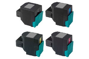 Lexmark Black & Color Compatible Toner Cartridge Set for C540 C544