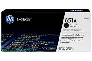 HP CE340A 651A Black OEM Genuine Toner Cartridge for M775DN M775F