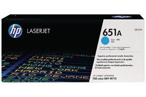 HP CE341A 651A Cyan OEM Genuine Toner Cartridge for M775DN M775F