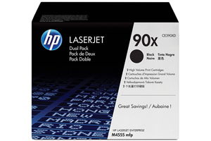 HP CE390XD High Yield 90X Twin Pack [OEM] Genuine Toner Cartridge