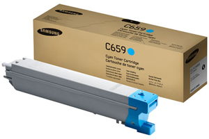 Samsung CLT-C659S Cyan OEM Genuine Toner Cartridges for CLX-8640ND