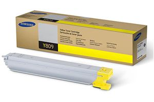 Samsung CLT-Y809S Yellow OEM Genuine Toner Cartridges for CLX-9201NA