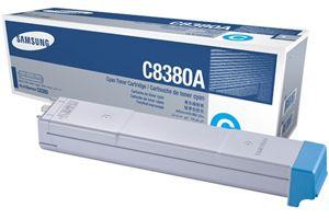 Samsung CLX-C8380A Cyan OEM Genuine Toner Cartridges for CLX-8380ND