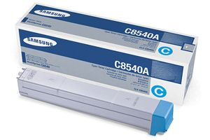 Samsung CLX-C8540A Cyan OEM Genuine Toner Cartridges for CLX-8540ND