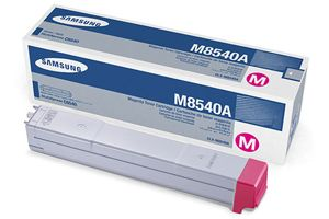 Samsung CLX-M8540A Magenta OEM Genuine Toner Cartridges for CLX-8540ND