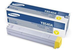 Samsung CLX-Y8540A Yellow OEM Genuine Toner Cartridges for CLX-8540ND