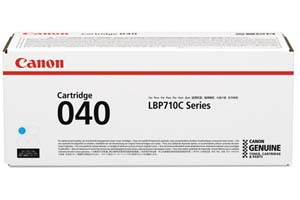 Canon 040 Cyan [OEM] Genuine Toner Cartridge for ImageClass LBP712Cdn