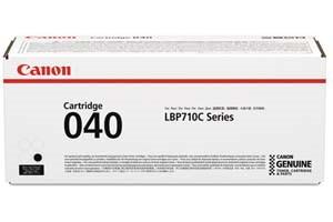 Canon 040 Black [OEM] Genuine Toner Cartridge for ImageClass LBP712Cdn