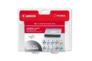Canon PGI-9 10-Pack Combo OEM Genuine Ink Value Pack for Pixma Pro9500