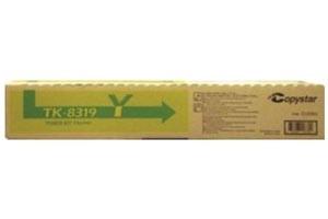Copystar TK-8319Y Yellow Original Toner Cartridge for CS-2550ci